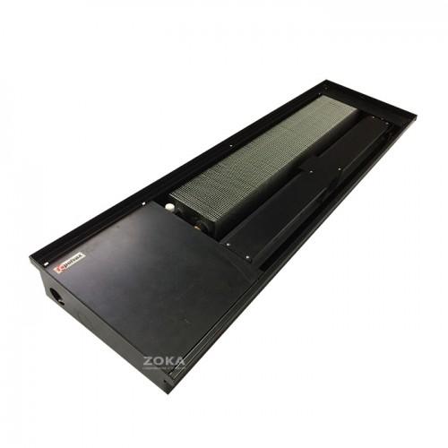 Внутрипольный конвектор Polvax KV 300 Premium Black (РАСПРОДАЖА)